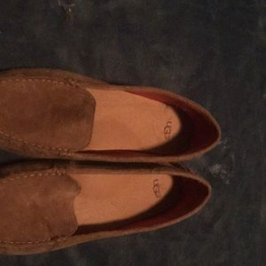 Ugg brown Suede shoes size 9